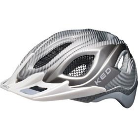 KED Certus Pro Helmet Silver Anthracite Glossy Matt